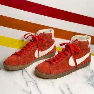 NEW Nike suede blazers
